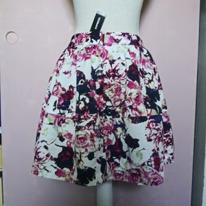 New Express Structured Circle Skirt